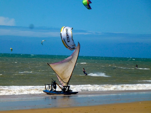 Kitesurf é o esporte mais praticado no Cumbuco (Foto: Casa Cohiba/Divulgação)