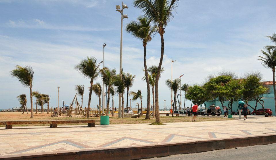 Calçadão Beira Mar