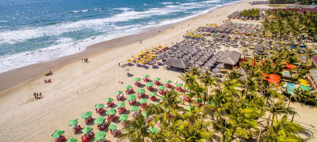 Praias mais bonitas de Fortaleza