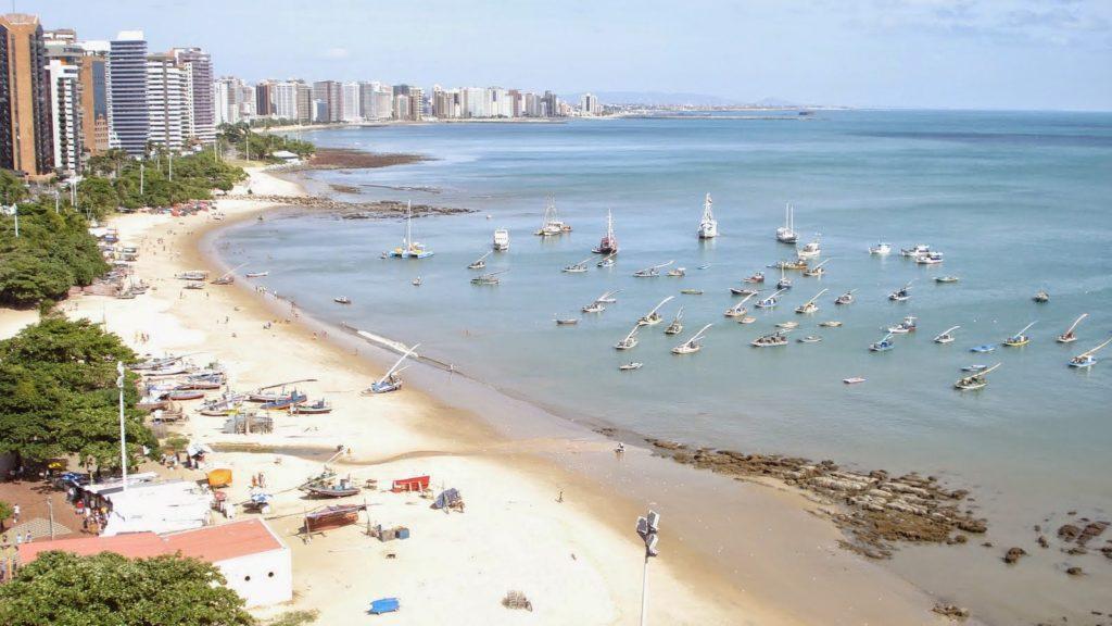 Praias mais visitadas de Fortaleza