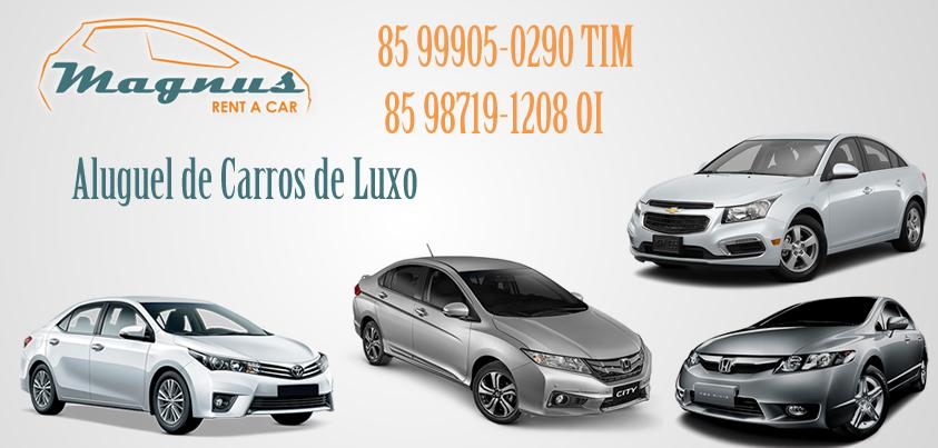 Aluguel de Carros de Luxo / Executivos em Fortaleza