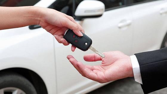 preço de aluguel de carros